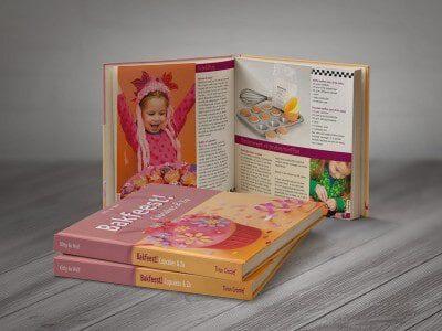 Portfolio: ontwerpen en opmaak boeken Bakfeest!