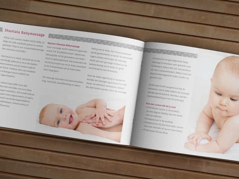 Ontwerpen brochure Acupunctuur Duiven