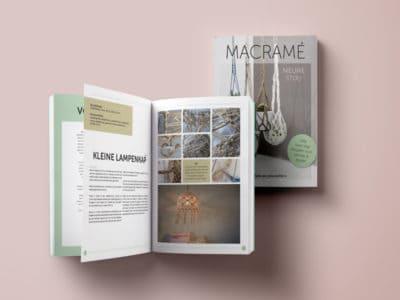 Vormgeving binnenwerk boek Macramé Nieuwe stijl