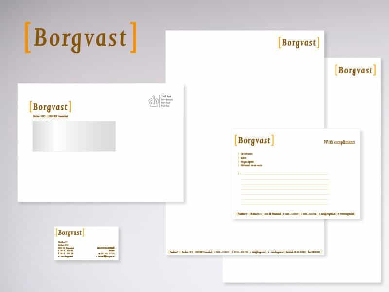 Logo en huisstijl ontwerpen Borgvast