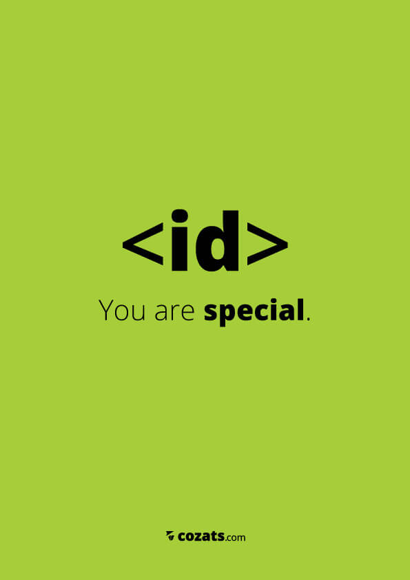 voor webdesigners - id you're special