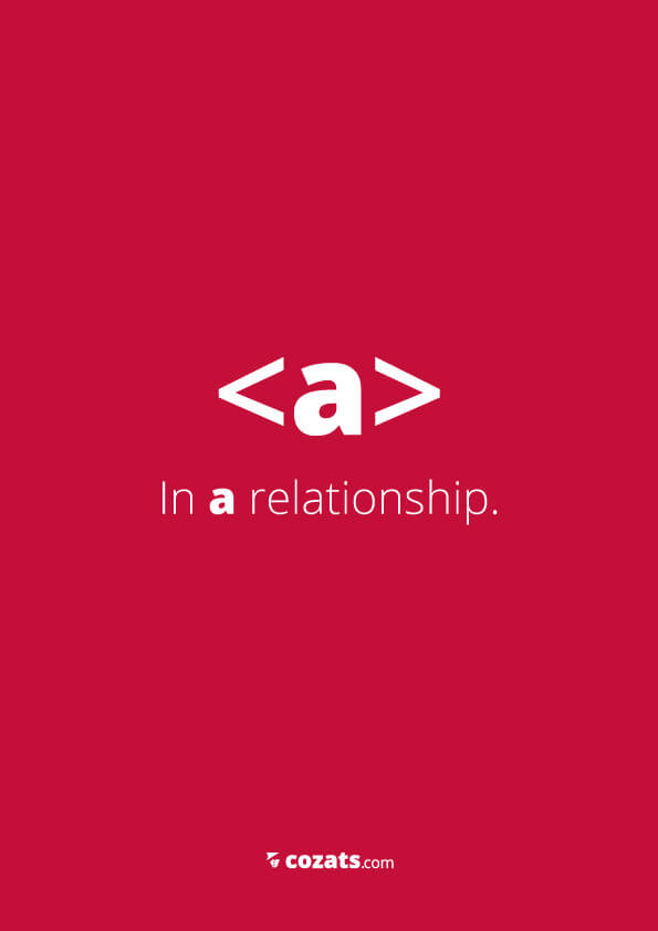 voor webdesigners - a in a relationship