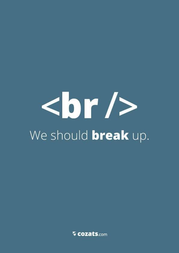 voor webdesigners - br we should break up
