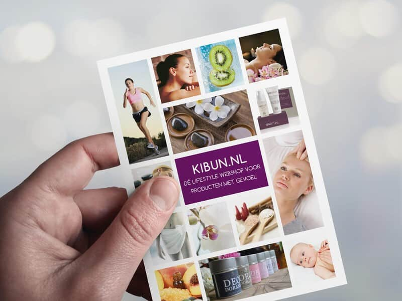 Portfolio: Ontwerpen flyer Kibun