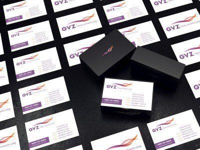 Visitekaartjes ontwerp GVZ Soest
