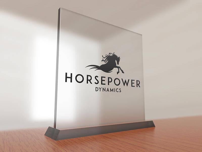 Logo ontwerp Horsepower Dynamics