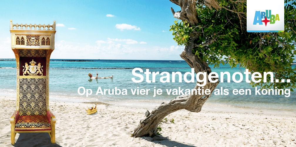 Prinsjesdag 2015 - reclame inhaker Aruba