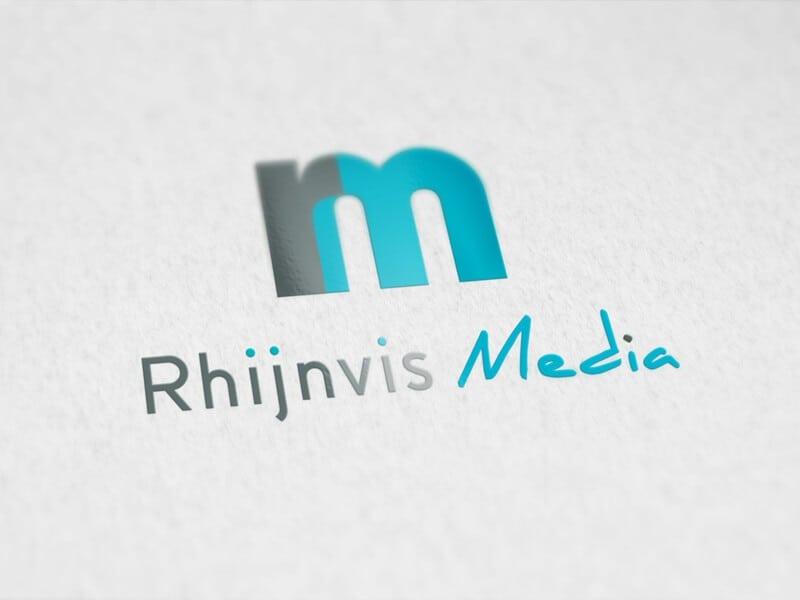 Portfolio: Logo ontwerp Rhijnvis Media