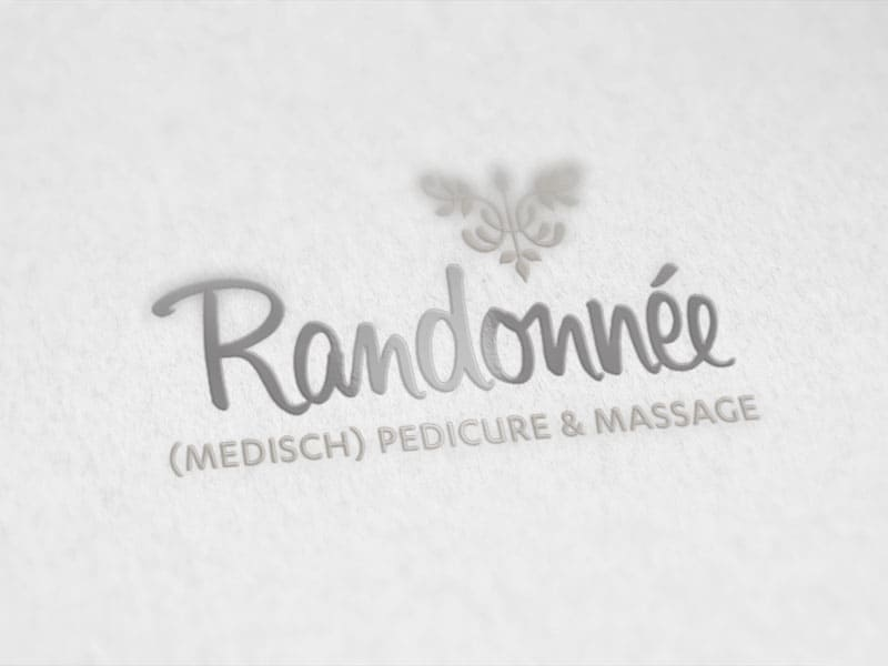 Logo Randonnee pedicure en massage