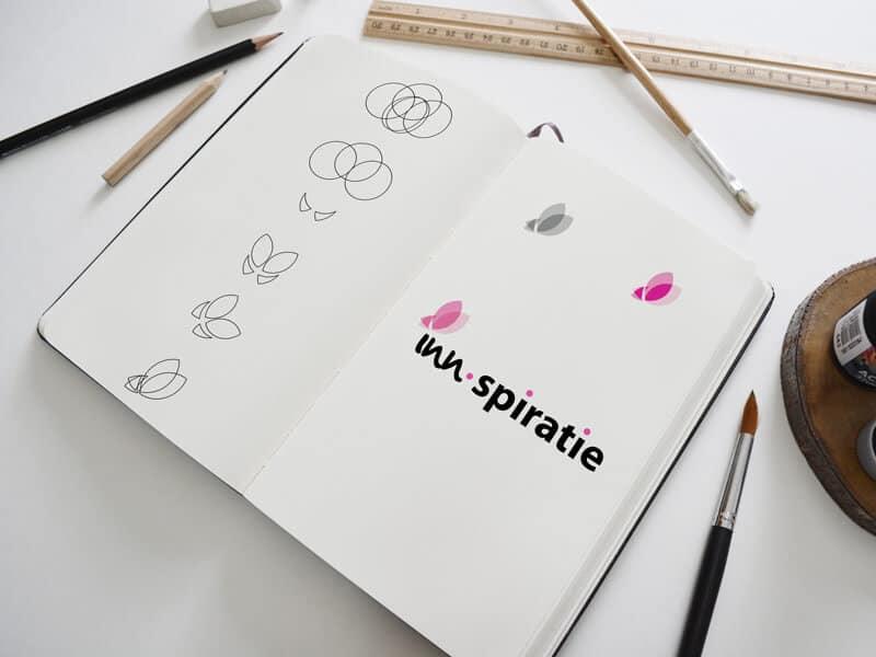 Ontwikkeling logo Inn-spiratie