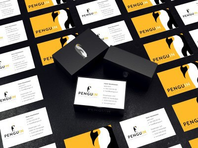 Logo ontwerp / huisstijl ontwerpen Penguin / Pinguin te koop
