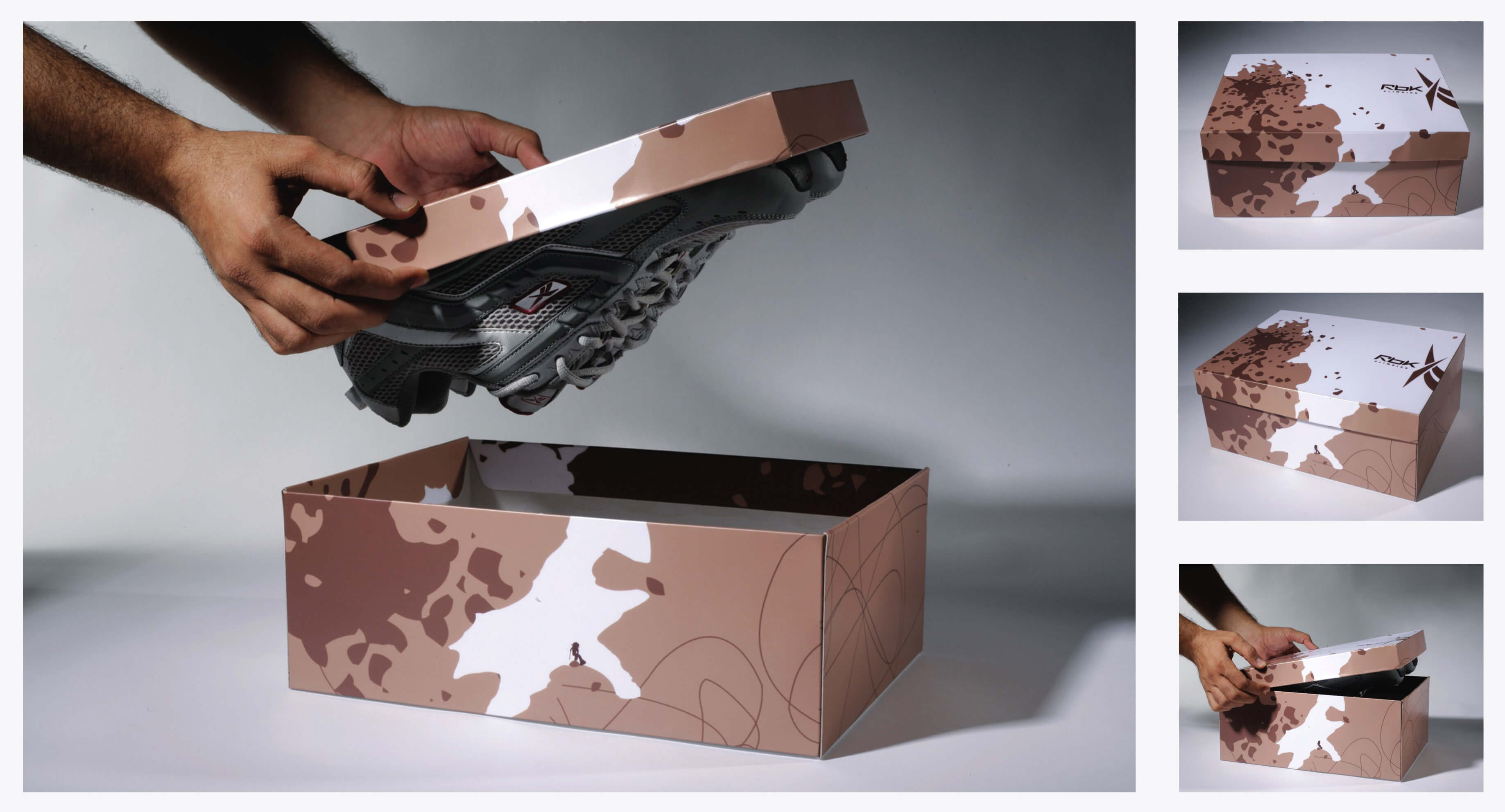 creatieve verpakkingen Reebok
