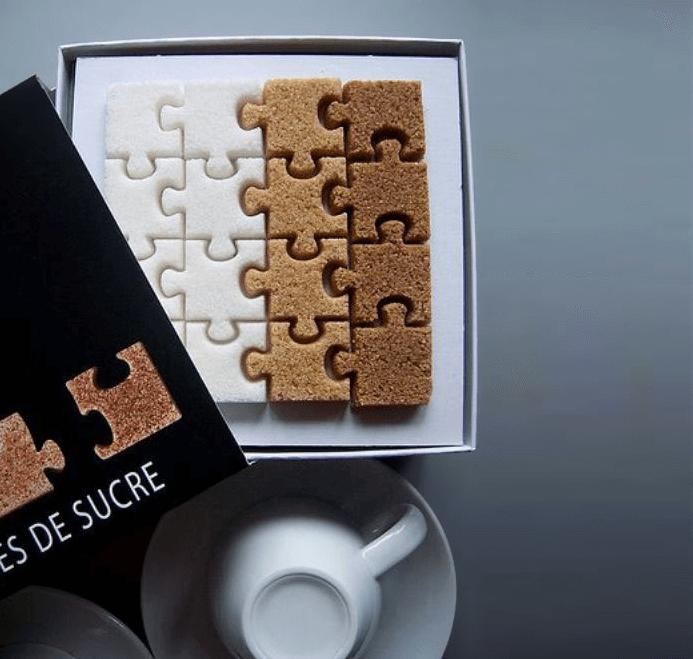 creatieve verpakkingen suikerklontjes
