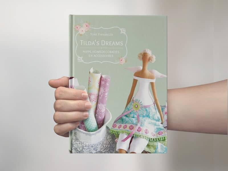 Tilda Dreams boekomslag ontwerp