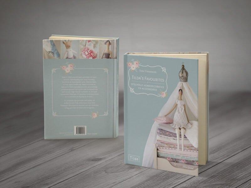 Tilda Favourites boekomslag ontwerp