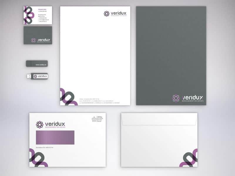 Huisstijl ontwerp Veridux