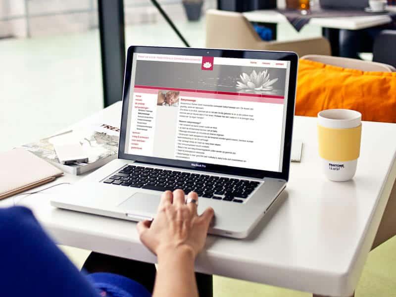 Website ontwerpen en bouwen voor Acupunctuur Duiven - behandelingen pagina