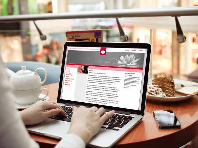 Website ontwerpen en bouwen voor Acupunctuur Duiven